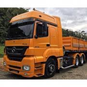 Ponteira Escapamento Lateral Esquerda para Caminhão Mb Axor Euro 5 Chassi Longo