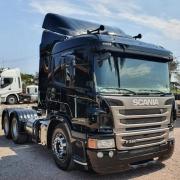Ponteira Lado Esquerdo Capa Para-Choque Largo para Caminhão Scania P / G / R - S5 / S6 2010 á 2019