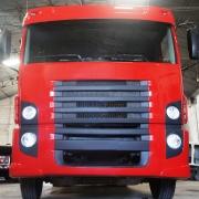 Ponteira Para-choque Dianteiro para Caminhão Vw Constellation 2 degraus Lado Esquerdo