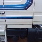 Saia Cabine em Fibra para Caminhão Scania T 112 / 113 / 142 / 143 Lado Esquerdo