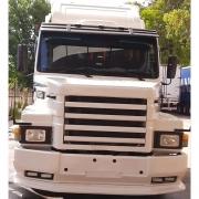 Spoiler Bigodinho em Fibra para Caminhão Scania T 112 / 113 / 142 / 143 Capa Curta