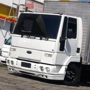 Spoiler Bigodinho Para-Choque Dianteiro para Caminhão Ford Cargo 712 814 815 816 915