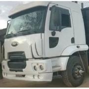 Spoiler Bigodinho Para-Choque para Caminhão Ford Cargo após 2011 traçado