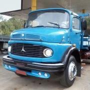 Spoiler Bigodinho Para-Choque para Caminhão Mb 1111 1113 1313 Até 1982 Farol Redondo