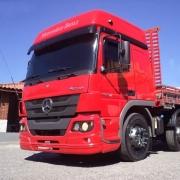 Spoiler Para-choque Dianteiro Para Caminhão Mercedes-Benz Atego após  2012