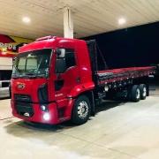 Suporte de Placa Dianteira para Caminhão Ford Cargo após 2012