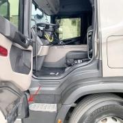 Tampa Acabamento Capa Farol para Caminhão Scania NTG Após 2019 Lado Esquerdo