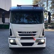 Tampa Acabamento Farol Lado Esquerdo para Caminhão Iveco Tector / Cursor 2009 á 2019