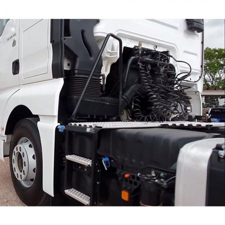 Tampa Caixa de Bateria para Caminhão Man TGX