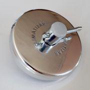 Tampa de Alumínio para Tanque Volvo New FH 16
