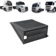 Tampa para Caixa de Bateria Caminhão Volvo FH - FM - NH até 2014 com Furo para Chave Geral 20541447