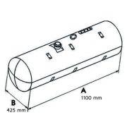 Tanque Combustível Plástico Para Mb 1113 / 1313 140 Litros 3864706903