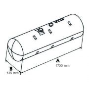 Tanque Combustível Plástico Para Mb 1113 / 1313 210 Litros