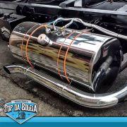Tanque de inox para Caminhão 155 Litros Completo
