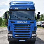 Tapa Sol Acrílico para Caminhão Scania S4 / S5 Modelo Europeu com Abertura para Faroletes