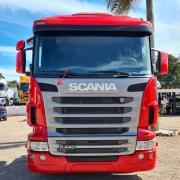 Tela Grade Frontal para Caminhão Scania G / R - S5 / S6 Vão Superior Lado Direito