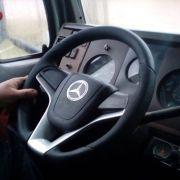 Volante esportivo para caminhão MB 710 c/cubo mod Cruze