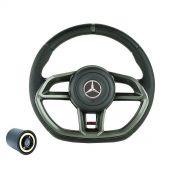 Volante esportivo para caminhão MB Accelo c/cubo mod Golf GTI