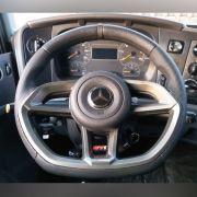 Volante esportivo para caminhão MB acima de 90 c/cubo mod Golf GTI