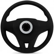 Volante Esportivo Para Iveco Tector C/cubo Mod Cruze Sticker