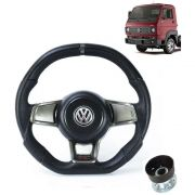 Volante Esportivo Para VW Delivery C/cubo Golf GTI Evolution