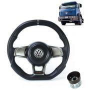 Volante Esportivo Para VW Titan C/cubo Md Golf GTI Evolution