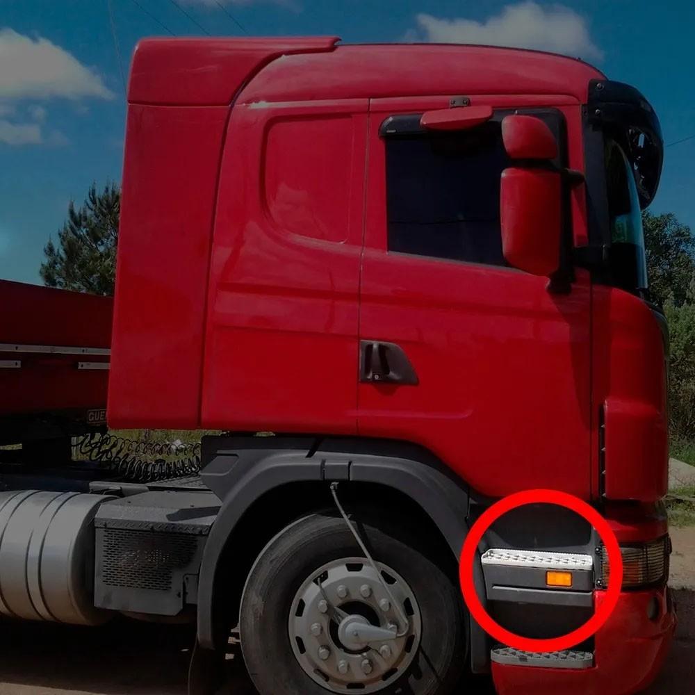 Acabamento Tampa Estribo Compatível com Caminhão Scania P | G | R até 2012 LD