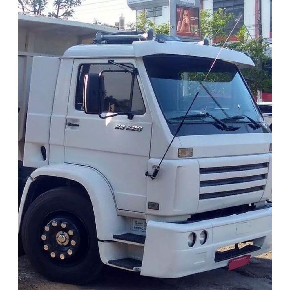 Antena PX Bobinada Preta para Caminhão (Viúva Negra)