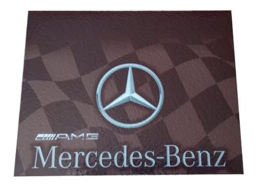 Apara Barro Dianteiro Caminhão 50 X 40 Mercedes-benz Par