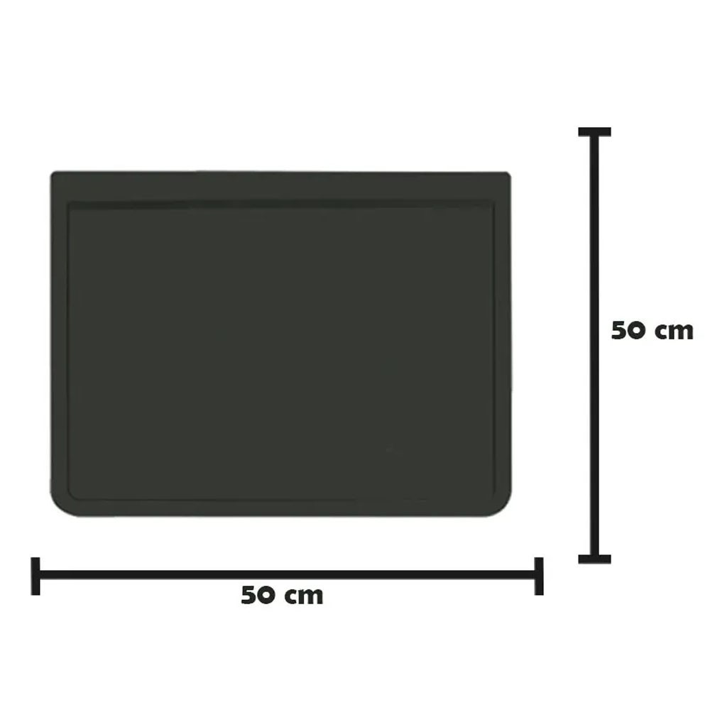 Apara Barro Injetado Liso (50x50) Par