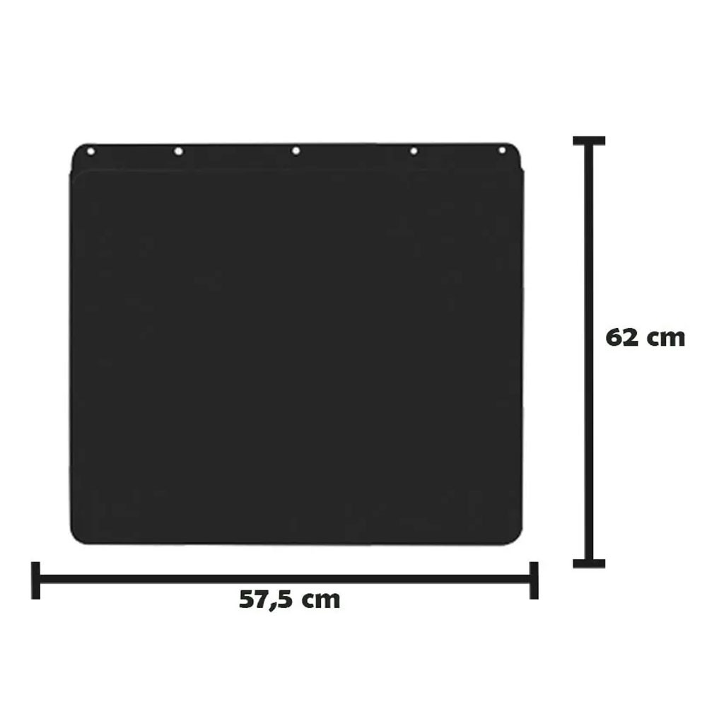 Apara Barro Injetado Liso (57,5x62) Par