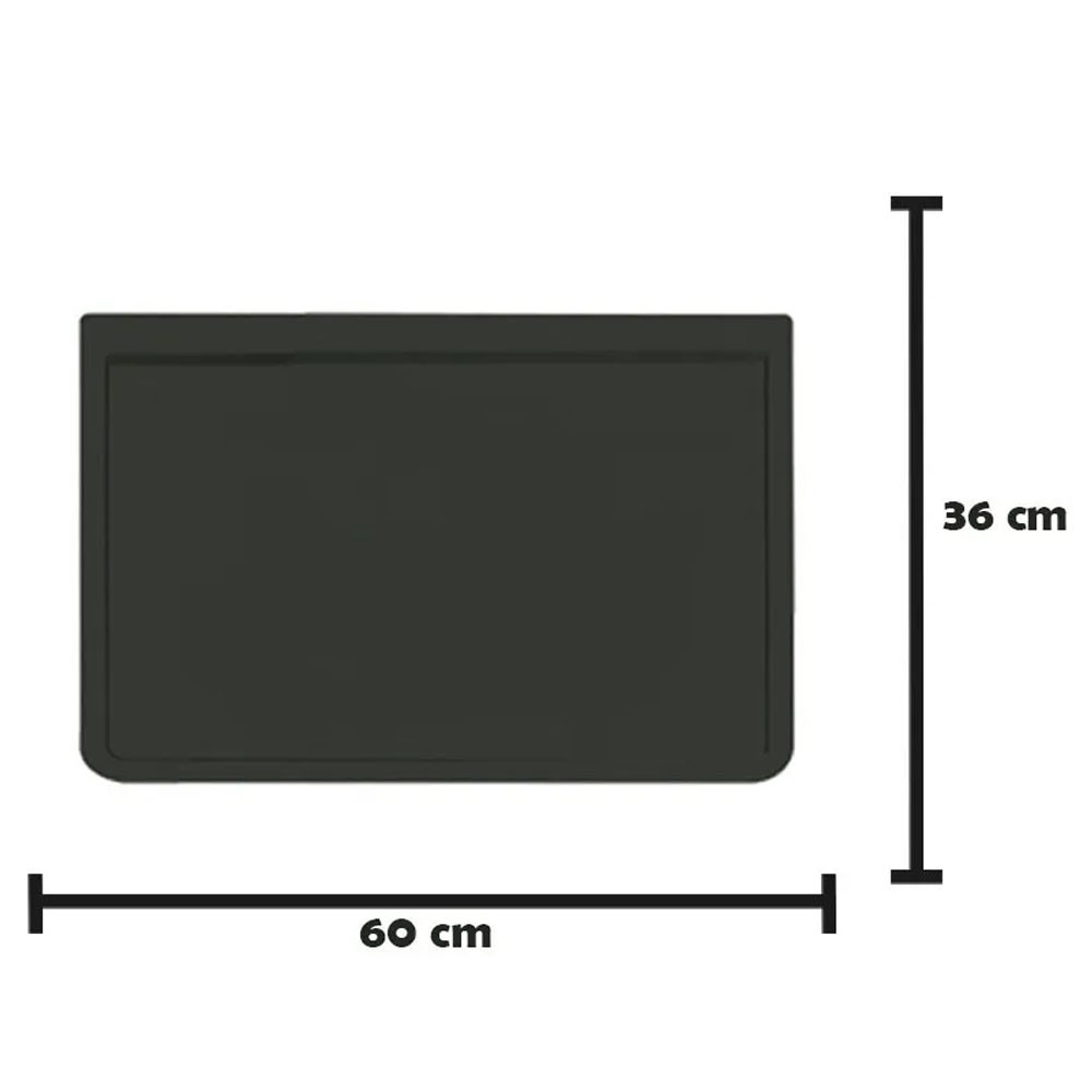 Apara Barro Injetado Liso (60x36) Par