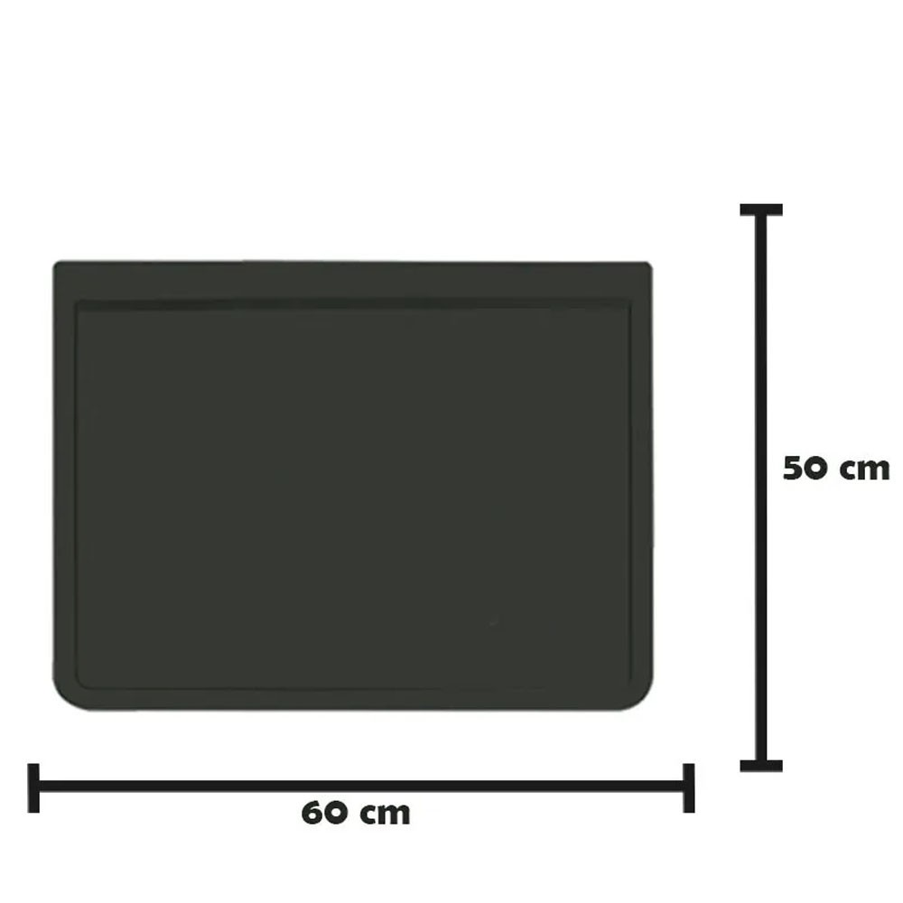 Apara Barro Injetado Liso (60x50) Par