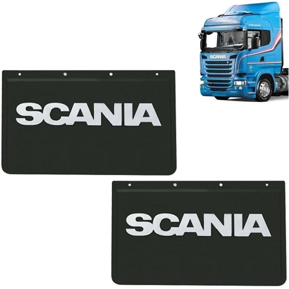 Apara Barro Traseiro Injetado para Caminhão Scania (60x36) Par