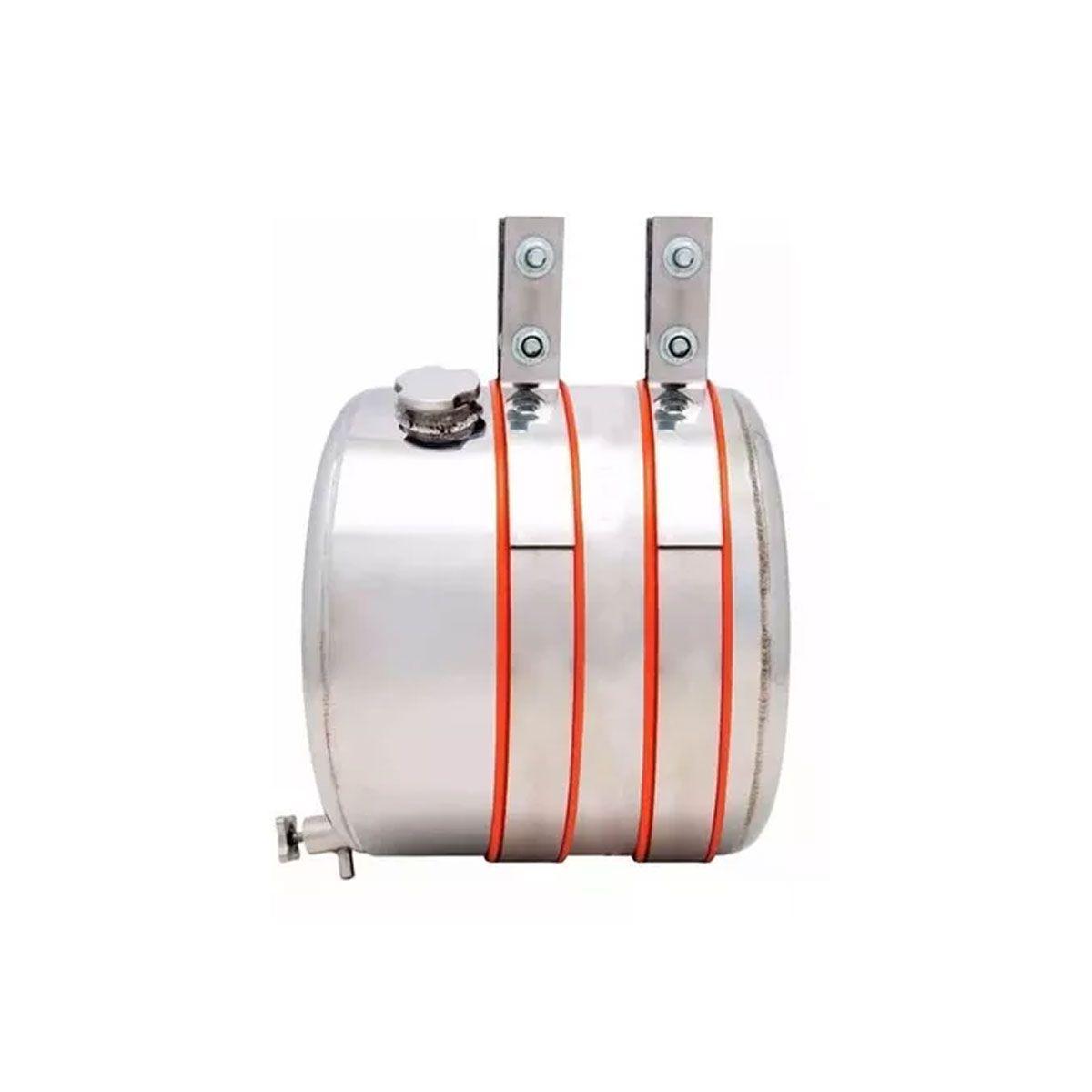 Barrica Corote De Água Em Aço Inox 15 Litros Completo