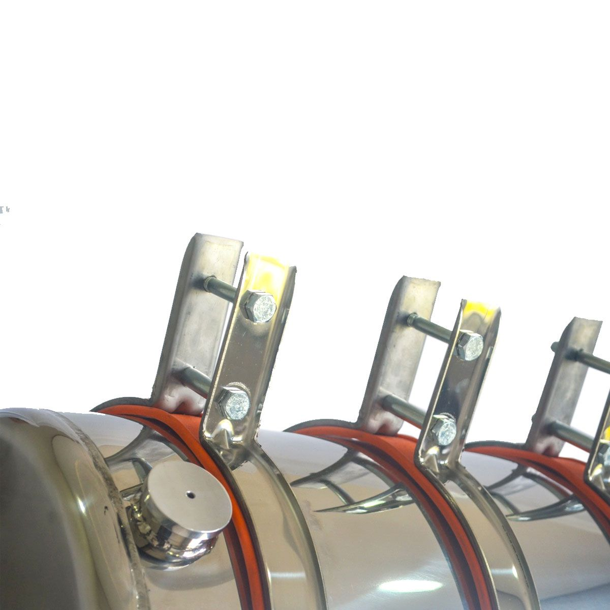 Barrica Corote De Água Em Aço Inox 50 Litros Completo