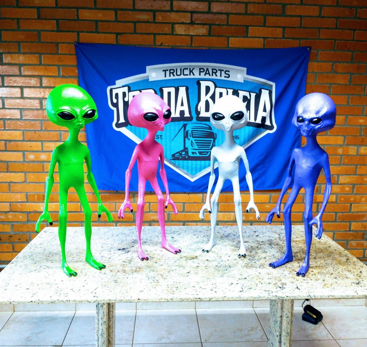 Boneco Alienígena da Rodagem