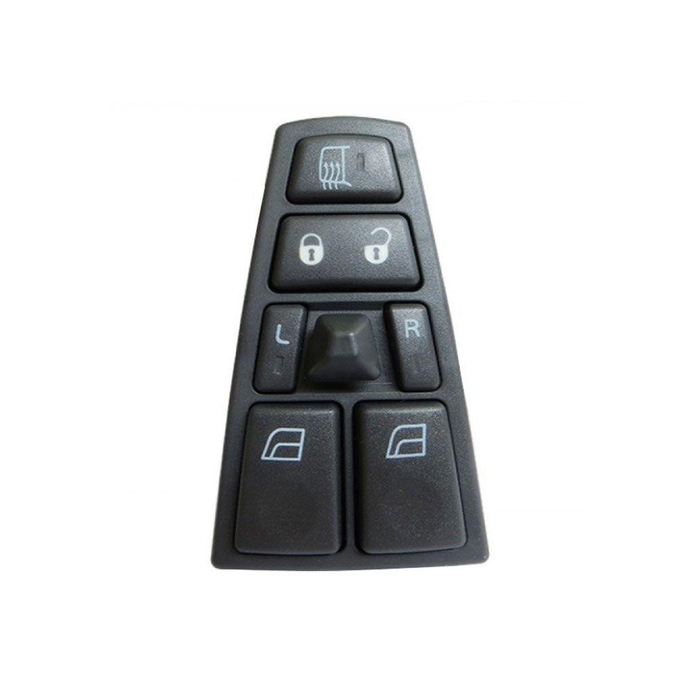 Botão de Vidro Volvo FH FM NH Completo Lado Esquerdo 20752918