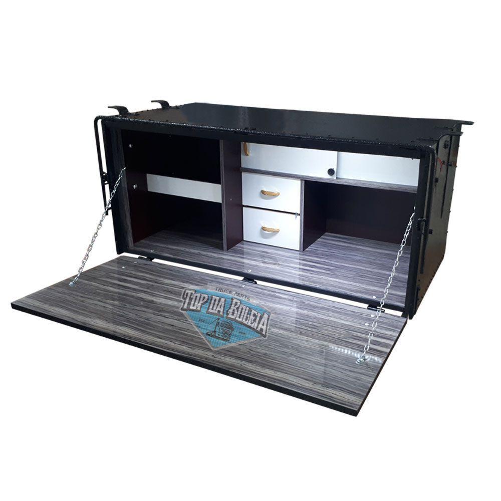 Caixa de Cozinha para caminhão Caibi Standard 115 x 65 x 62 cm