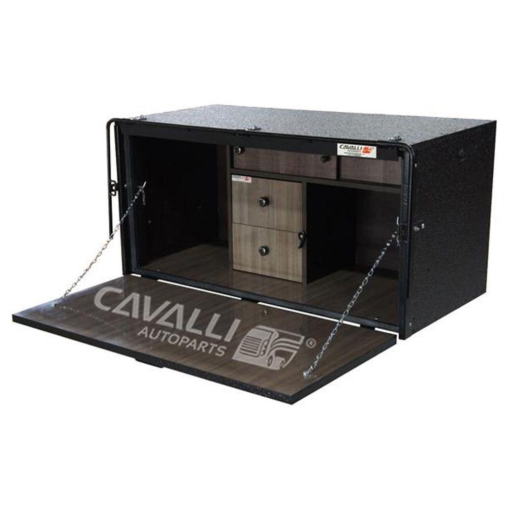 Caixa De Cozinha para Caminhão Cavalli Master Luxo 500 x 1150 x 500