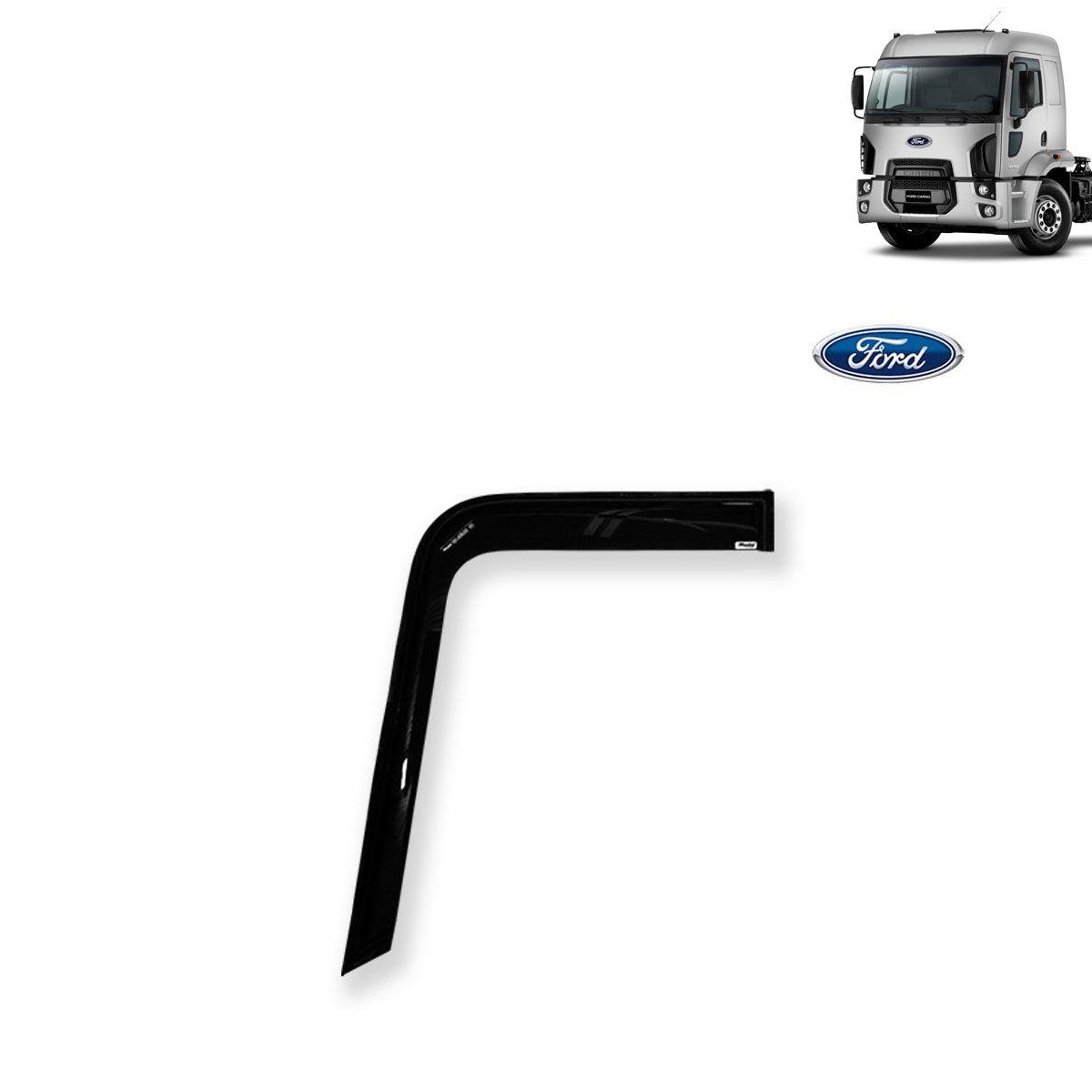 Calha de Chuva Porta para Caminhão Ford Cargo 2012 (Fixação Vidro)