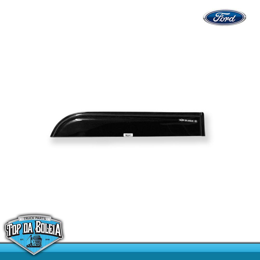Calha de Chuva Porta para Caminhão Ford Cargo 2012 (Fixação Vidro) Reta