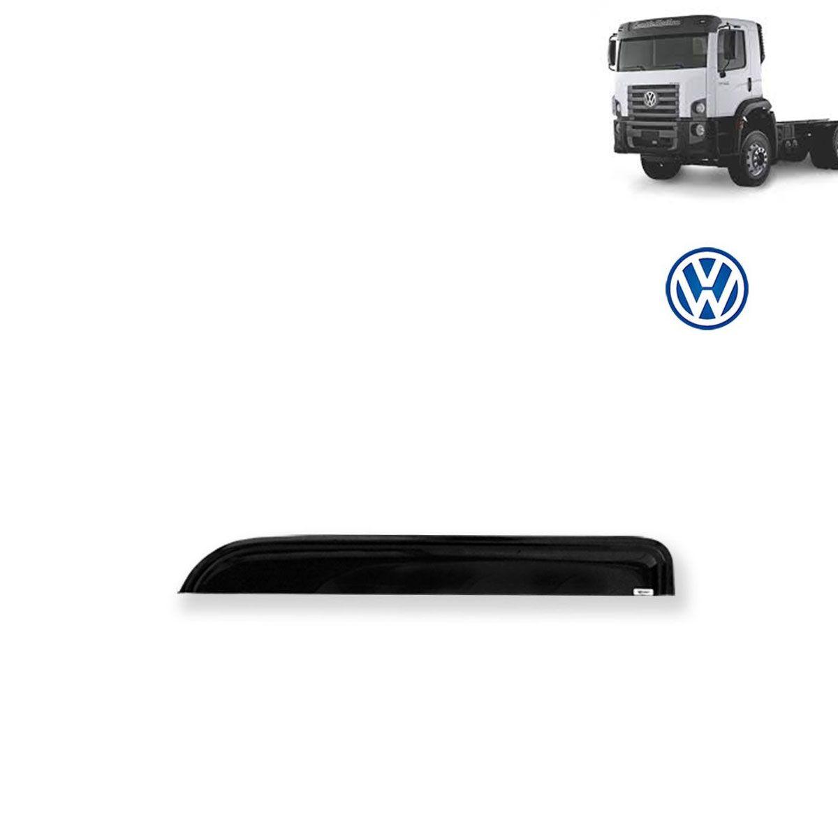 Calha de Chuva Porta para Caminhão Volkswagem Constellation Adesiva Reta