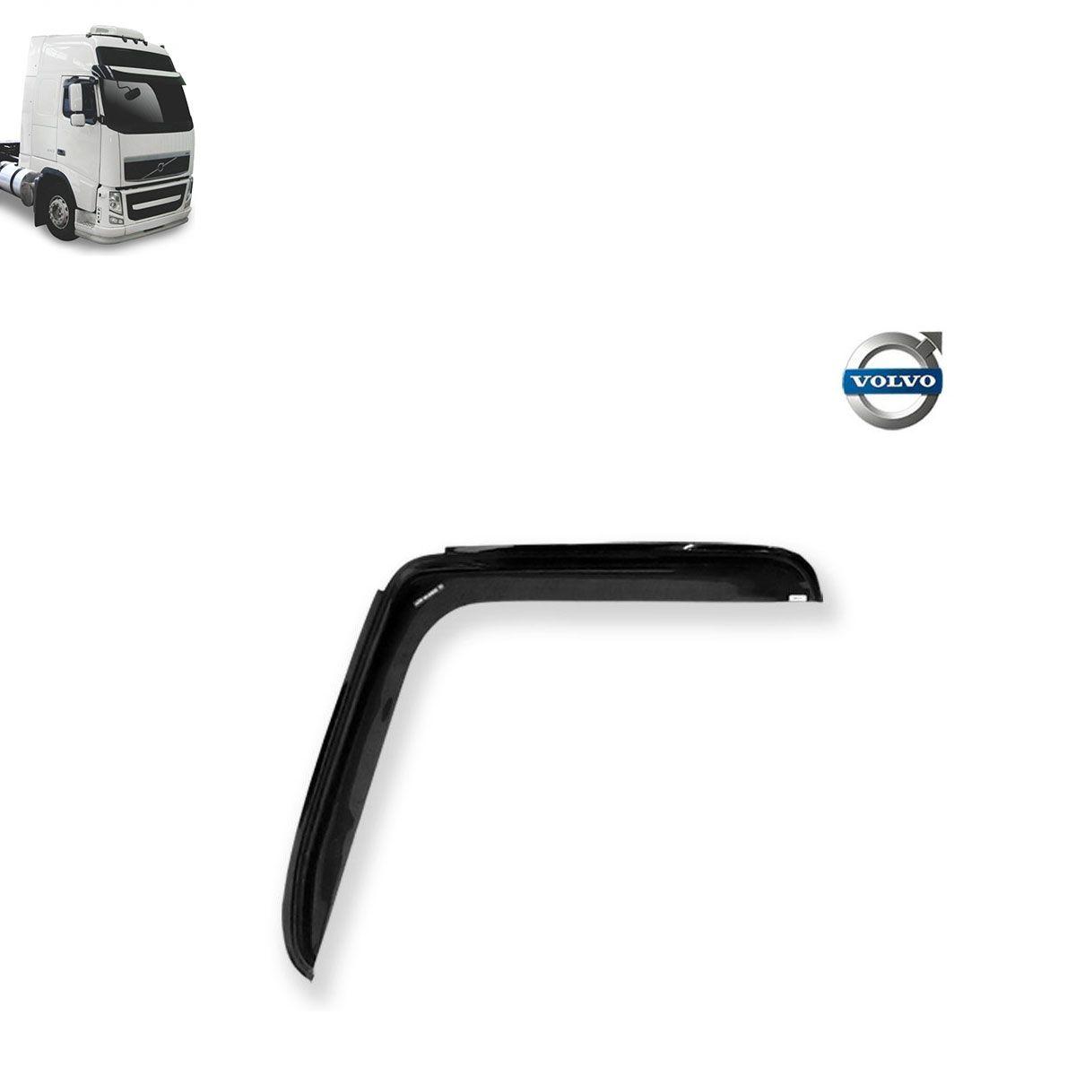 Calha de Chuva Porta para Caminhão Volvo FH 2010 ( Fix. Na lata) Adesiva