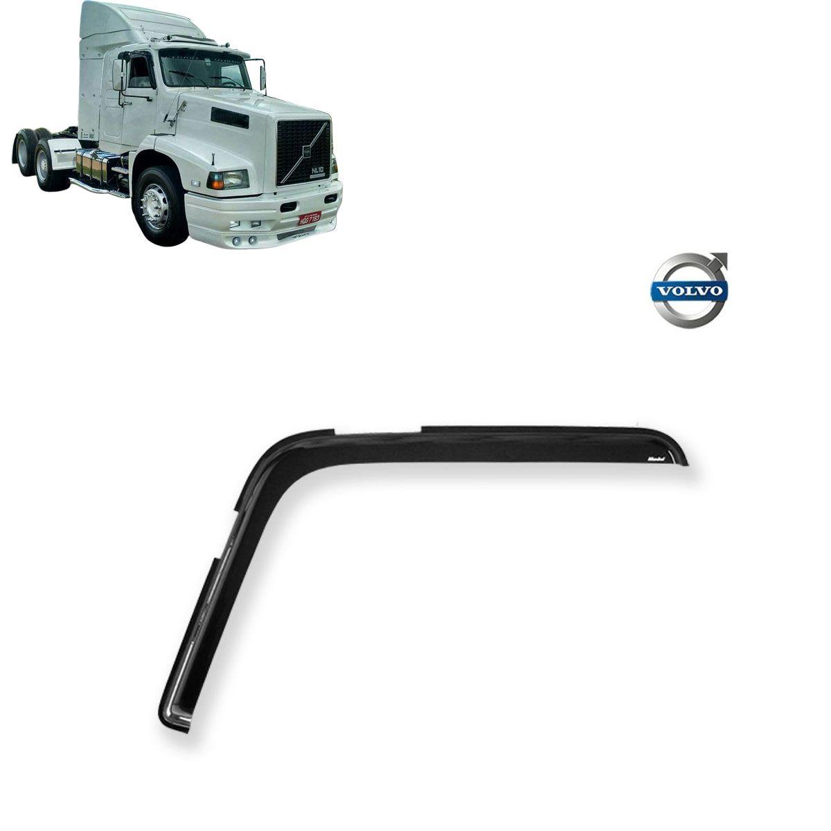 Calha de Chuva Porta para Caminhão Volvo NL Adesiva