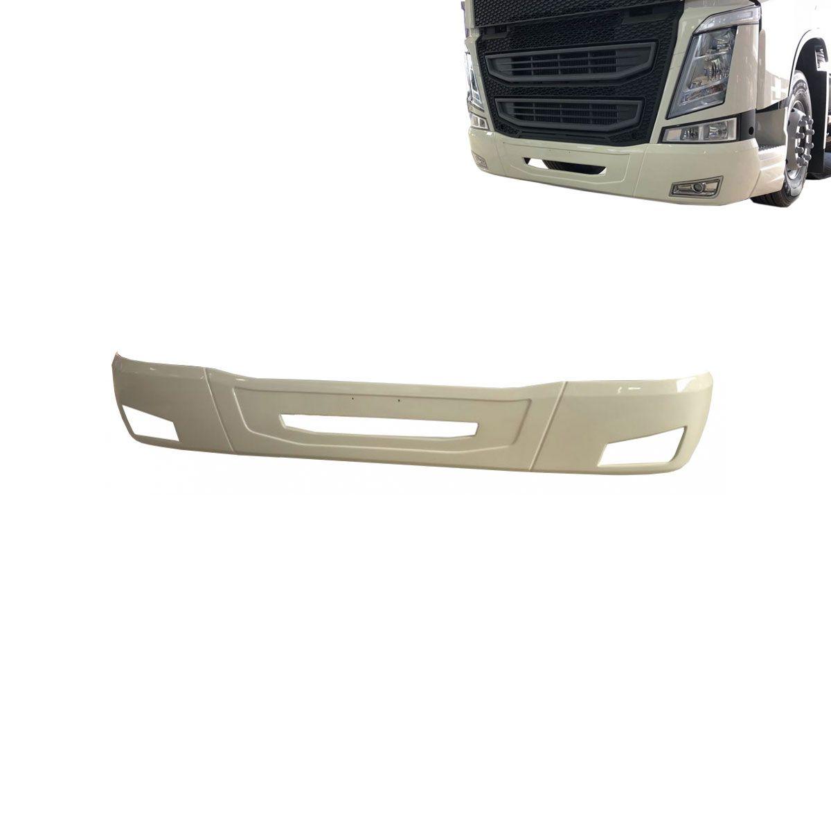 Capa de Parachoque Volvo New FH Aberta + Par Farol Auxiliar