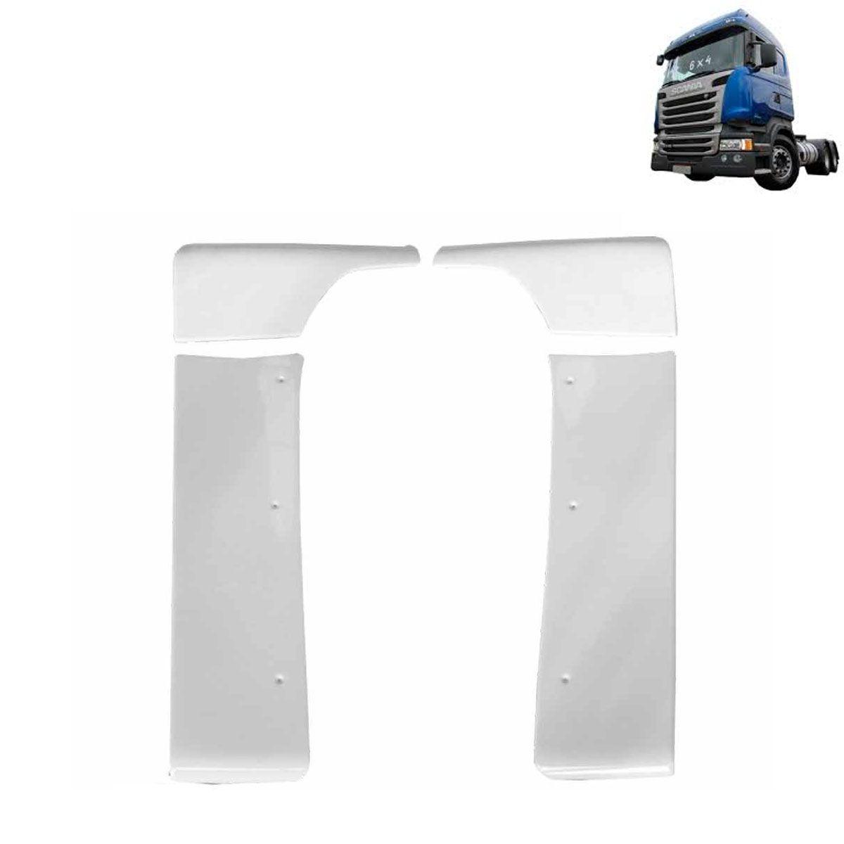 Cegonheiro para Scania S4 | S5 Cabine G | Streamline com Recorte do Filtro