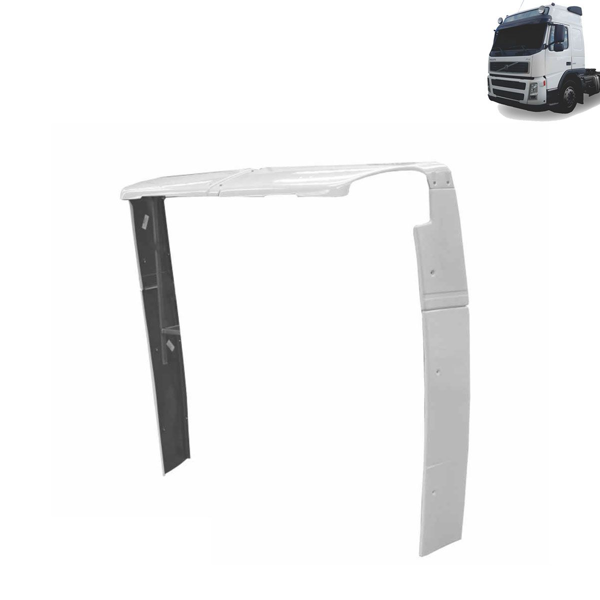 Cegonheiro para Volvo FM Antigo Globetrotter com Teto