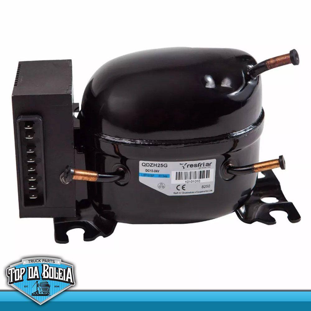 Compressor para Geladeira Caminhão com Unidade Eletrônica