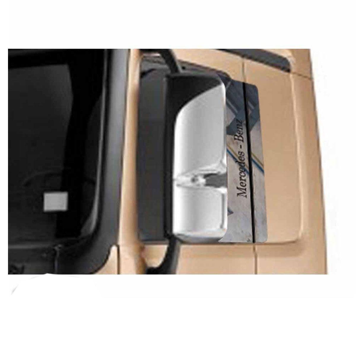 Conjunto em Inox Coluna da Porta Mercedes Benz Actros